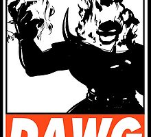 Dormammu Dawg Obey Design 2 by SquallAndSeifer