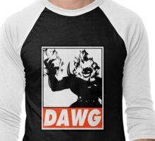 Dormammu Dawg Obey Design 2 Men's Baseball ¾ T-Shirt