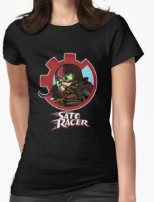 Sato Racer Womens Fitted T-Shirt