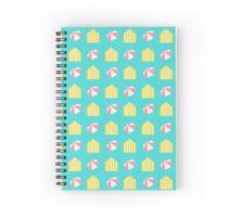 Beach Holidays Spiral Notebook