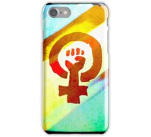 Female empowerment  iPhone Case/Skin