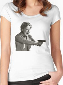 Hillary Master Blaster Women's Fitted Scoop T-Shirt