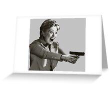 Hillary Master Blaster Greeting Card