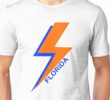University of Florida Lightning Bolt Artwork Unisex T-Shirt