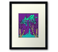 Icky Icarus Framed Print