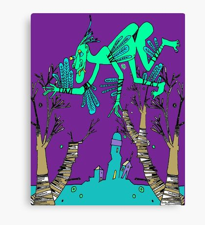 Icky Icarus Canvas Print