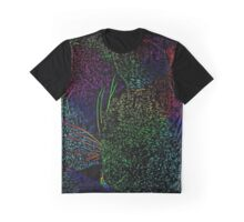 Rainbow Cat Fur Graphic T-Shirt