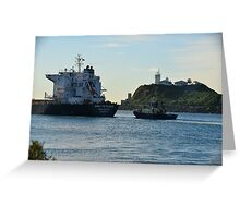 ANNY PETRAKIS - BULK CARRIER Greeting Card
