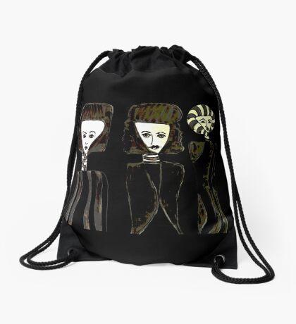 The Three Perfumes Drawstring Bag