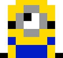 Pixel Minion by lonelycubone