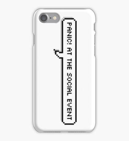 Panic! At the Social Event iPhone Case/Skin
