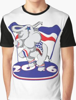 Patriotic Elephant - #3 Graphic T-Shirt
