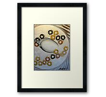 Cereal Intragration Framed Print
