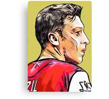 The Pass Master - Mesut Ozil Canvas Print
