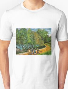 Greeenlake meets the yellow brick road Unisex T-Shirt