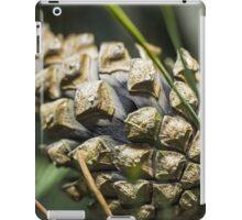 Macro Pinecone iPad Case/Skin