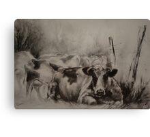 Miss Meander Canvas Print