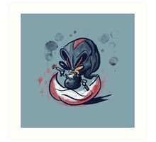 The Edgehog Art Print