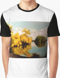 """Greenlake Reflections"" Graphic T-Shirt"