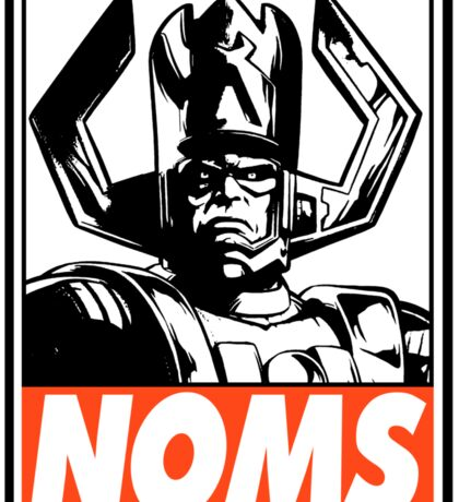 Galactus Noms Obey Design Sticker