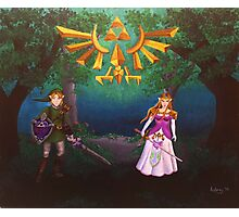 Legend of Zelda: Link & Leading Lady Photographic Print