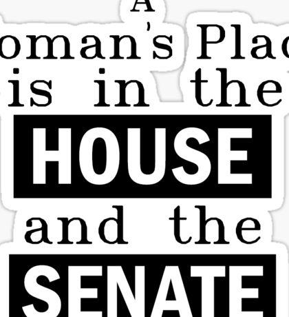 House and Senate Sticker