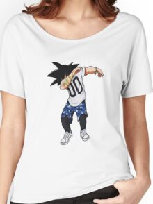 goku dab on em Women's Relaxed Fit T-Shirt