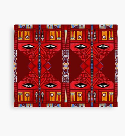 Mexican Eyes Canvas Print