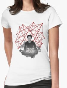 Stiles Stilinski Connected Lines Womens Fitted T-Shirt