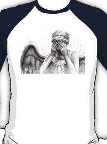 Doctor Who Weeping Angel - Don't Blink! T-Shirt