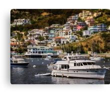 Life on the bay Canvas Print