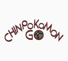 Chinpokomon GO! One Piece - Short Sleeve