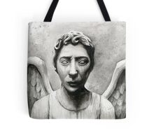 Weeping Angel - Don't Blink! Tote Bag
