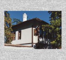 The White Chimney - Sun Dappled Elegant Revival House One Piece - Short Sleeve