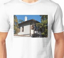 The White Chimney - Sun Dappled Elegant Revival House Unisex T-Shirt