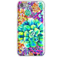 Psychadelic Succulents iPhone Case/Skin