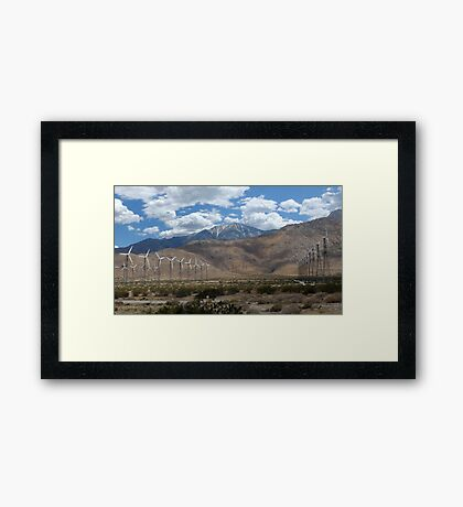 Alternative Power Framed Print