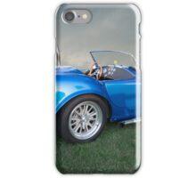 Cobra Blue iPhone Case/Skin