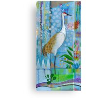 Summer Crane Canvas Print