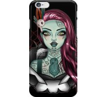 Miss Aotearoa PINK Hair iPhone Case/Skin