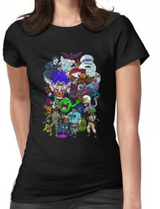 I Ain't Afraid Of No Ghost Womens Fitted T-Shirt