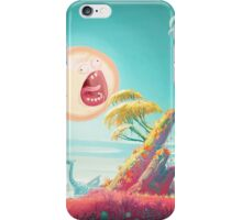 No mans sky screaming sun iPhone Case/Skin