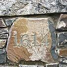 Datestone of The Old Inn, Crawfordsburn, Northern Island by Shulie1