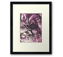 Krypton's  labyrinth Framed Print