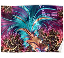 Feather - abstract 3d Fractal Poster