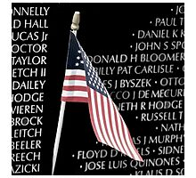 Vietnam War Memorial Photographic Print