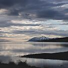 dusk at Eyjafjörður by Rebecca Tun