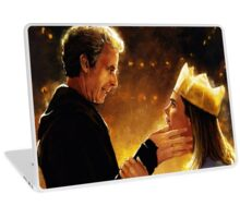 The Doctor and Clara  Laptop Skin
