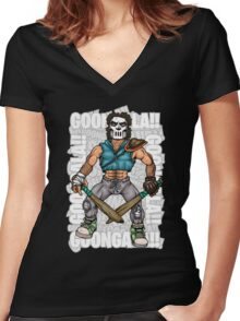 Goongala!! Women's Fitted V-Neck T-Shirt