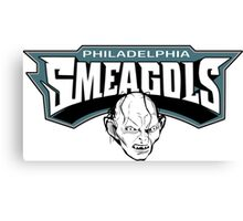 Philadelphia Smeagols!!! Canvas Print
